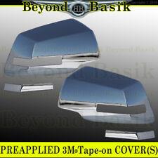 2007-2016 GMC Acadia 2009-2017 Chevy Traverse CHROME Mirror Covers Overlays