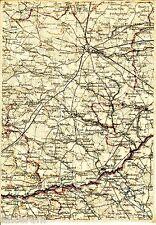 Łuków Kock Radzyń Podlaski 1914 orig. Karte /Ln. Firlej Trzebieszów Ulan Żdżary