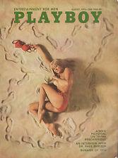 August 1970 Playboy Magazine Complete Sharon Clark Sex Alphabet  Raquel Welch