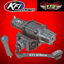 KFI AS-50 5000lb Assault Winch w/Synthetic Cable 13-17 Polaris RZR XP1K XP 1000