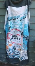vintage Budweiser Bud Light Deep Six Divers beach towel 1980's