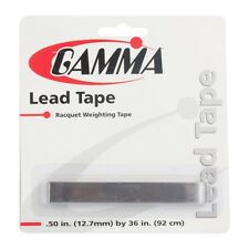 "Gamma Lead Tape - 1/2"" Width - Tennis Racket Customization - Free P&P"