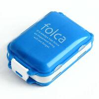 Tragbare Reise Medizin Vitamin Pillen Folding Box Container Medikament Fall O9F5