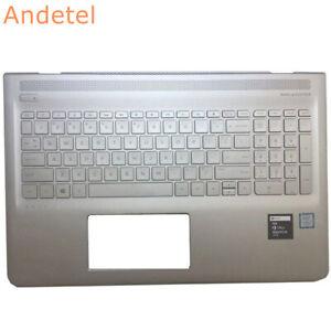 HP Envy 15-AS 15T-AS Laptop Palmrest US Keyboard Cover Upper Case 6070B1018801
