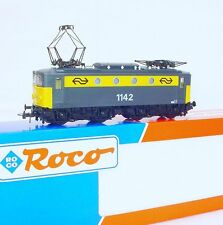 Roco HO 1:87 Dutch NS 1100 Grey/Yellow Medium ELECTRIC LOCOMOTIVE No Nose MIB`95