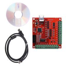 3X CNC USB MACH3 100KHz Tabla 4-Axis Interfaz Conductor Movimiento Controlador