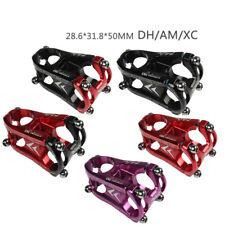 Bicycle Stems Aluminum Alloy MTB DH AM XC Bike Handlebar Stem 28.6*31.8*50mm
