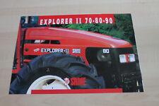 126994) Same Explorer II 70 80 90 Prospekt 09/1999