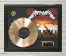 "Metallica Framed Lp Record Reproduction Signature Display ""M4"""