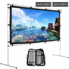 Durable 16:9 150Inch Large Projector Screen For Outdoor Party Theater Projection