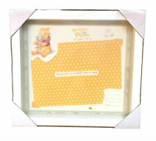 "DISNEY Winnie The Pooh Baby Gift Keepsake Photo Frame photo size 6"" x 4"" wooden"