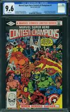 Marvel Super Hero Contest of Champions #1 CGC 9.6 1982 1st Limited! L9 221 cm