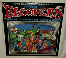Kermit Schafer, Best Of Bloopers-Radio & Television, COMEDY RECORD VINYL LP