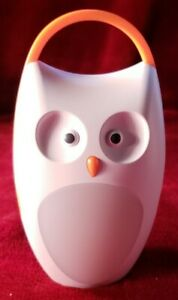 SOAIY Owl Sound Machine Compact Portable Baby Sleep Soother White Noise Shusher