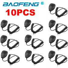 10X Baofeng 2-Way Radio Speaker Mic for BF-888S UV-5R UV-5RA UV-5RB/5RC UV-5RE #