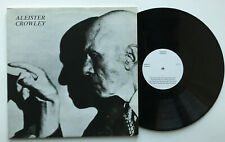 Aleister Crowley self titled UK Private Label 1986 OZ 77 vinyl lp magick occult