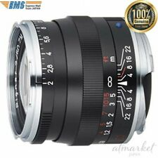 Carl Zeiss Single focus lens Planar T*2/50ZM BK black 50mm F/2 Camera from JAPAN