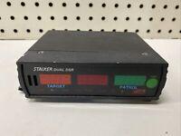 Applied Concepts STALKER DUAL DSR Moving Police Radar Unit COOL SPEEDING REPAIR