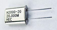 Crystal Oscillator H2000 20 20000mhz Hec New 5 Pcs
