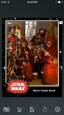 Topps Star Wars Digital Card Trader Black Maz's Castle Band Base 4 Variant