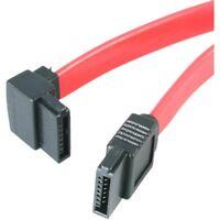 StarTech SATA18LA1 StarTech.com 18in SATA to Left Angle SATA Serial ATA Cable -