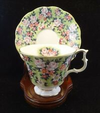 "Royal Albert ""Garden Party Series"" Spring Song Cup and Saucer"