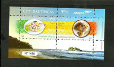 COSTA RICA 2019 UPAEP TYPICAL MEALS MNH