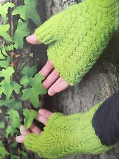 Cg9 - Knitting Pattern - DK Wrist Warmers / Fingerless Gloves - Any Colour