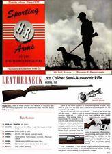 Harrington & Richardson Arms 1952-53 Catalog