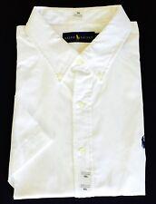 New Polo Ralph Lauren Men's Standard Fit Short Sleeve Poplin Sport Shirt All Sz