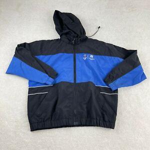Vintage Tradesmark Sportswear Sydney 2000 Olympic Windbreaker Jacket L Blue