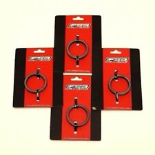 "FSA 160-4205 5mm 1-1/8"" UD Carbon Black Bicycle Headset Spacers Bag of 4"