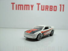 HOT WHEELS FORD SHELBY GT 500 MUSTANG WHITE MALAYSIA  MATTEL 11