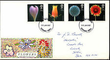 GB FDC 1987 Flowers, Stevenage FDI #C37356