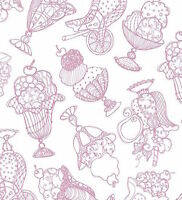 Quilting Treasures Sweetie Loralie Pink 100% cotton fabric by the yard