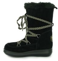 Rocket Dog Snowcrush Ladies Lace Up Suede Winter Fur Lined Boots New Size UK 3-8