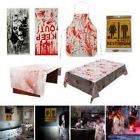 NEW HALLOWEEN DOOR COVER WALL SPOOKY DECORATION SCARY SCENE SETTER DOORS HAUNTED