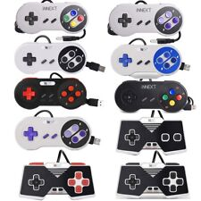 1/2 Pack SNES NES USB Super SNES USB Controller Gamepad For PC Mac Raspberry Pi