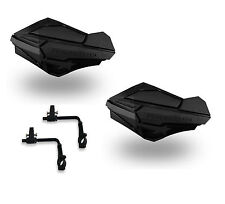 Powermadd Sentinel Handguards Guards Tri Mount Black / Black Utility ATV Suzuki