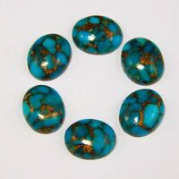 Details about  /GTL CERTIFIED 50 Pcs Lot Natural Green Copper Turquoise 6mm Round Gemstone s16