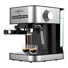 Machine à Café Grain Moulu Expresso Automatique Cappuccino 1050 W 15 Bars FR