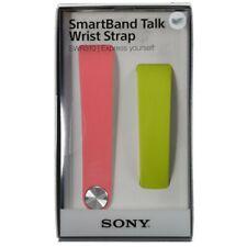 SONY Cinturino Intercambiabile SWR310 per Smartband Talk Rosa Verde taglia M / L