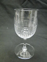 Baccarat Nancy Port Wine Glasses 4 15/16in Clear Cut Crystal