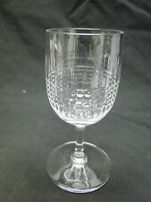 Baccarat Nancy Port Wine Glasses 4 15/16in Clear Cut Crystal