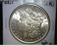 1887  Morgan Silver Dollar - 90% Silver - CHOICE AU