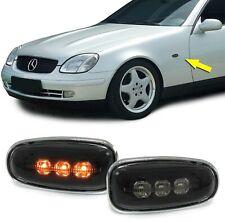 LED Seitenblinker Klarglas schwarz für Mercedes Sprinter Vito E W210 SLK R170