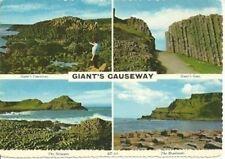 IRELAND Giants Causeway Gate Steucans Headlands BAMFORTH postcard deltiology