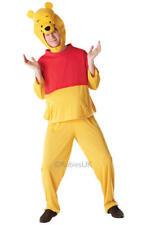 Da Uomo Adulto Winnie The Pooh Costume Vestito DISNEY Orso Libro Settimana XL