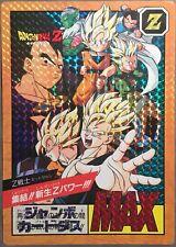 Jumbo Carte Dragon Ball Z Jumbo Carddass Prism #9 Card