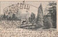 AK verschickt von Hannover nach Dresden aus dem Jahr 1907